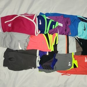 14 womens sz S RE SELLERS shorts LOT